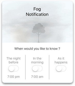 Fog Notification